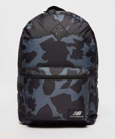 New Balance Camo Backpack - Black/Grey