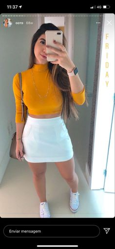 Skirt Outfits, Cool Outfits, Casual Outfits, Look Fashion, Autumn Fashion, Womens Fashion, Western Look, Tumblr Outfits, Tumblr Fashion