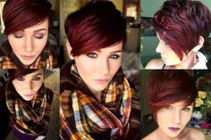 Short Hairstyles Red Hair 2016