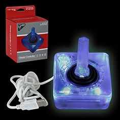 Retrolink, Wired Atari Style USB Controller for PC and Mac (Blue LED)