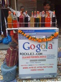Mineral Water Ice Gola in India