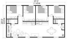 small house floor plan    http://habitaflex.com/modele-habitaflex-DK1422.php   fold out prefab buildings Canadian