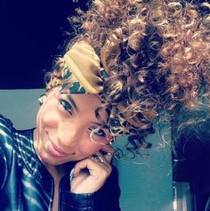 gold bow headband for summer curly natural hair