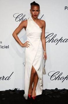 Cassie Ventura en la fiesta de Chopard en Cannes