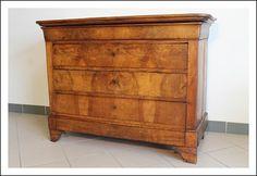 antico Comò cassettone cappuccino piano legno! Noce epoca 1860 patina cassettiera antichità antiquar