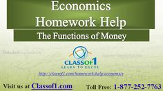 Visit The Functions of Money http://www.slideshare.net/Classof1HomeworkHelp/the-functions-of-money to read the article.