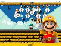 スーパーマリオメーカー:ムービー集   Wii U   任天堂