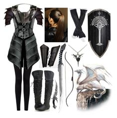 """Dragon Rider"" by lilacmayn ❤ liked on Polyvore featuring Forever 21, Braun and Imoni"
