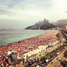 COPACABANA BEACH, RIO  Rio de Janeiro