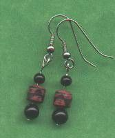 Basic Bead Earrings... oh the things I could create.