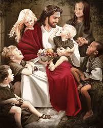 Resultado de imagen para jesus con los niños