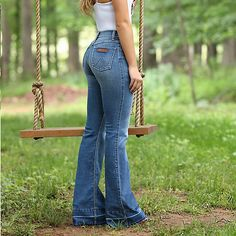 1e564814cc2 Rustic flare.Flare has never looked so good. These jeans hug your body and  look incredible. It s the easiest fashion denim to wear
