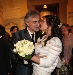 Andrea Bocelli e Veronica Berti matrimonio