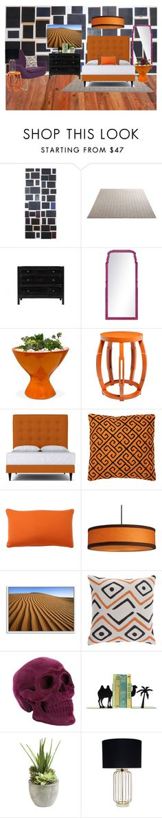 """""""Guest room"""" by britt-catlynne-weatherall on Polyvore featuring interior, interiors, interior design, home, home decor, interior decorating, Eka, Jayson Home, Bungalow 5 and Jonathan Adler"""