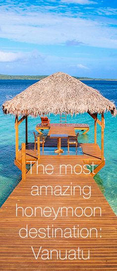 The most amazing honeymoon destination: Vanuatu. It ticks all the boxes when it comes to an exotic, beautiful relaxing vacay! South Pacific, Pacific Ocean, Honeymoon Destinations, Holiday Destinations, Island Nations, Vanuatu, Continents, Sydney, Gem