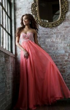 Sherri Hill 3907 Love this dress and getting it in red :)