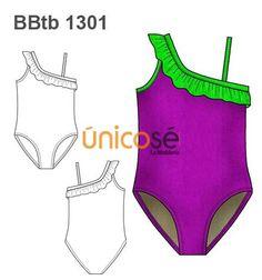 TRAJE DE BAÑO UN HOMBRO Kids Swimwear, Swimsuits, Bikinis, Fashion Templates, Girls Bathing Suits, Fashion Design Sketches, Only Girl, Swimwear Fashion, Baby Dress