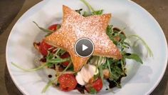Italiaanse kerstster caprese - recept | 24Kitchen