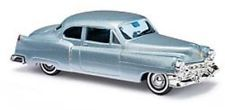 NEW HO Busch 43433 METALLIC SILVER 1952 Cadillac Coupe 1/87 scale Model Car