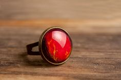Planet Venus ring adjustable ring statement ring by SomeMagic