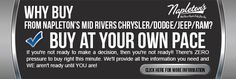 Napletons Mid Rivers Chrysler Dodge Jeep RAM Why Buy