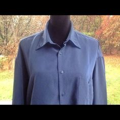 Pierre Cardin Large Men Shirt Size 16-16.5 #PierreCardin