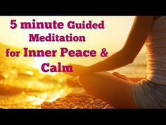 This is a 5 Minute Guided Meditation to ease Anxiety, Worry, and Urgency. I believe that meditation changes the chemistry in our bodies, energy around us, ou...