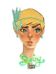 Miss Daisy B by gaiancreatif.deviantart.com on @DeviantArt