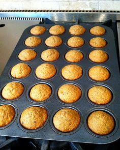 Veggie Banana Bran Muffins (aka Sneaky Muffins)