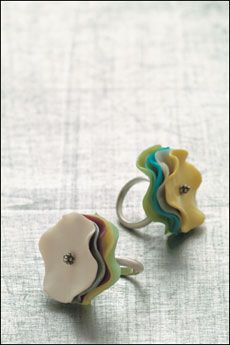 article by interweave on polymer clay..