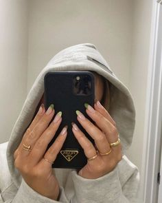 Aycrlic Nails, Swag Nails, Hair And Nails, Manicure, Milky Nails, Fire Nails, Minimalist Nails, Brown Nails, Best Acrylic Nails