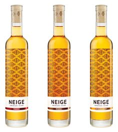 "Neige - ""Inspired by the technique used to make ice wine and by Québec's very particular climate, Neige (meaning snow in English) ice cider was born out of this Canadian province's terroir, which has the extreme cold winter temperatures needed to produce the concentration of sugars for its creation."