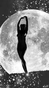 dance naked under the moon - Google Search Witches Dance, Luna Moon, Moon Dance, Moon Shadow, Under The Moon, Sun Moon Stars, Moon Magic, Moon Lovers, Beautiful Moon