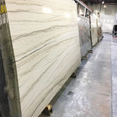 Walk over 26 rows of quartzite, granite, and marble. #quartzite #marble #granite #interiordesign #remodel #stoneconnection #atlanta #norcross