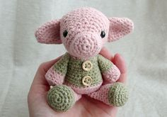 Adorable pig! (no pattern)