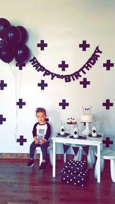 Monochrome birthday