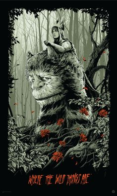 Mondo Poster for BRICK and WHERE THE WILD THINGS ARE — GeekTyrant