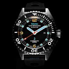 CAVENAGO Subcrew GLADIATOR watch