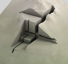 Festim toshi - architectural models architectural бумажная а Model Architecture, Architecture Drawings, Concept Architecture, Landscape Architecture, Architecture Student, Geometry Architecture, Maquette Architecture, Architecture Collage, Chinese Architecture