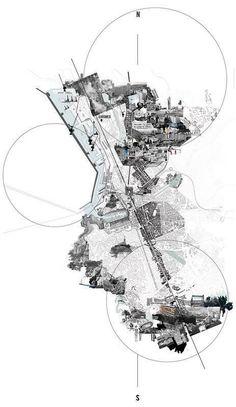 urban analysis city Landscape Architecture Urban analysis city , stadtanalyse stadt , ville d'analyse urbaine , ciudad de análisi Collage Architecture, Site Analysis Architecture, Architecture Mapping, Architecture Graphics, Architecture Portfolio, Architecture Drawings, Landscape Architecture, Masterplan Architecture, Architecture Diagrams