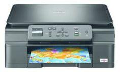 BROTHER DCP-J152W Impresora Brother DcpJ152W , Impresora, copiadora y escáner de inyección de tinta A4 con conexión WiFi y pantalla LCD color de 4,5 cm. Solo 61€ mas iva
