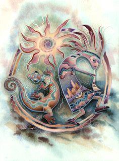 """Sun Dancers"" par Jody Bergsma"
