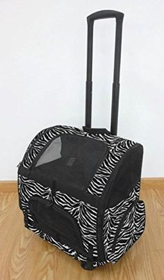 Large Portable Zebra RollerCarrier Backpack -- Click on the image for additional details.(This is an Amazon affiliate link and I receive a commission for the sales)
