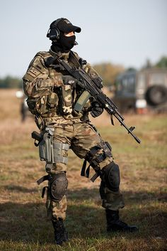 GROM, the Polish Special Forces? Love this camo? Find uniforms & webbing in Polish Woodland camouflage HERE.