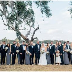 charleston wedding in graphite