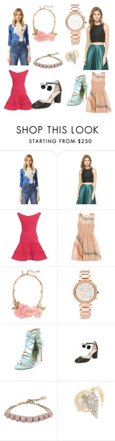 """Online only....555"" by cate-jennifer ❤ liked on Polyvore featuring Alice + Olivia, TIBI, Emilio De La Morena, RED Valentino, Oscar de la Renta, Michael Kors, Tamara Mellon, Kate Spade, Valentino and Alexis Bittar"