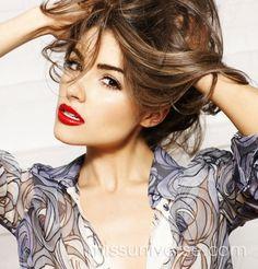 Miss beautiful long hair