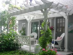 front porch pergola designs | 18 Patio Pergola Ideas, Perfect For The Upcoming Summer Days