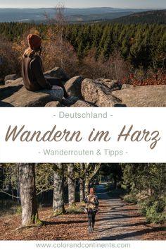 Wandern im Harz: Wanderrouten und Tipps für Brocken und Ilsetal - Der Beitrag zu unserer Wandern durch den Nationalpark Harz ist nun auf www.colorandcontinents.com online! Hier findet du Tipps zu Wanderrouten so wie Fakten über den Nationalpark Harz. Im Herbst ist es wunderschön auf den Wanderwegen im Harz unterwegs zu sein. Schau auf meinem Reiseblog vorbei und lass dich für deine nächsten Wander-Ausflug inspirieren! #colorandcontinents #colorandcontinentsunterwegs #wandernindeutschland Holidays Around The World, Around The Worlds, Holidays Germany, Reisen In Europa, Travel Around Europe, Holiday Places, Camping And Hiking, Summer Travel, Campervan