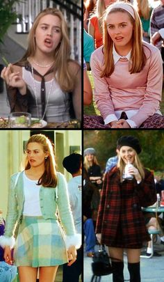 Alicia Silverstone as Cher Horowitz in 'Clueless' (1995). Costume Designer: Mona May.